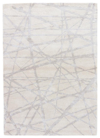 Etho Rug in Parchment & Chateau Gray design by Nikki Chu for Jaipur Living