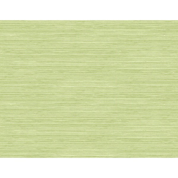 Sample Jamaica Faux Grass Wallpaper in Green from the Tortuga Collection by Seabrook Wallcoverings