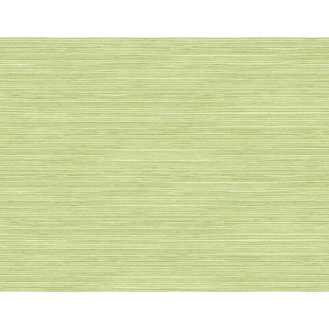 Jamaica Faux Grass Wallpaper in Green from the Tortuga Collection by Seabrook Wallcoverings