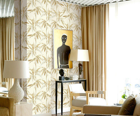 Janson Floral Wallpaper by Carl Robinson for Seabrook Wallcoverings