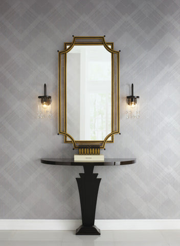 Jazz Age Wallpaper from the Deco Collection by Antonina Vella for York Wallcoverings