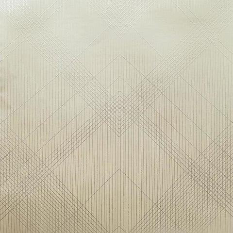 Jazz Age Wallpaper in Beige and Metallic from the Deco Collection by Antonina Vella for York Wallcoverings