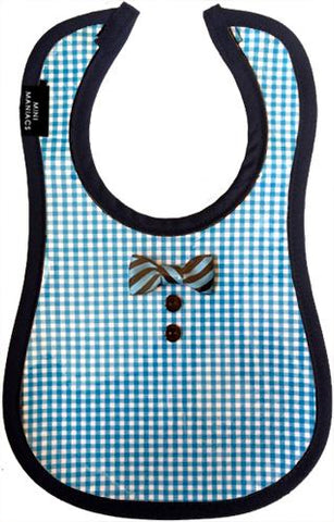 Jefferson Baby Bib by Mini Maniacs