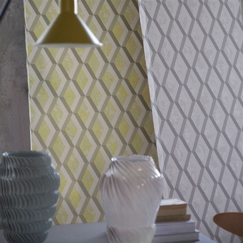 Jourdain Wallpaper from the Mandora Collection by Designers Guild