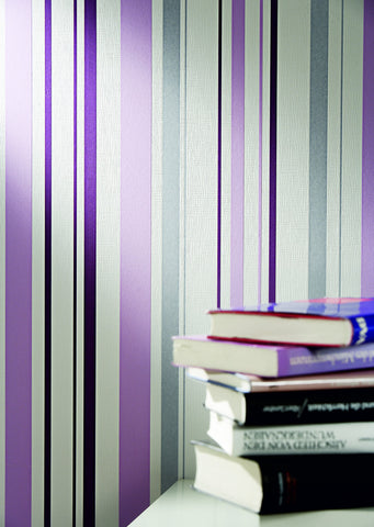 Joyful Stripes Wallpaper design by BD Wall