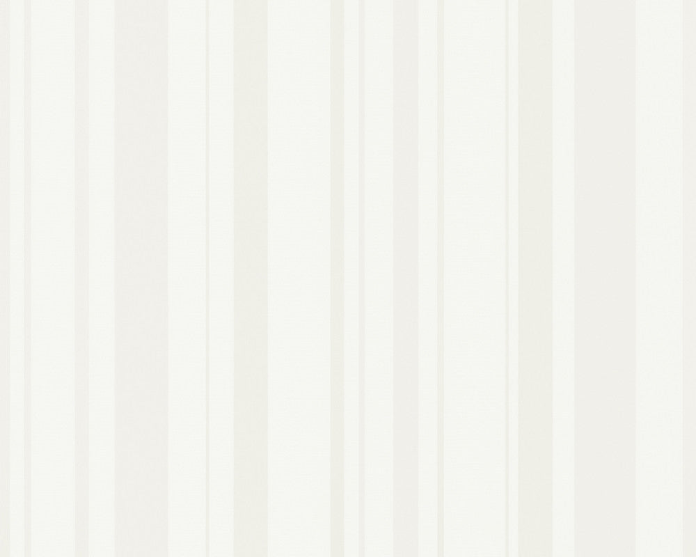 Joyful Stripes Wallpaper in Ivory design by BD Wall