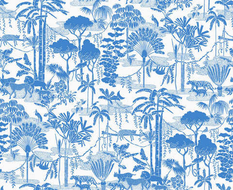 Jungle Dream Wallpaper in Orinoco design by Aimee Wilder