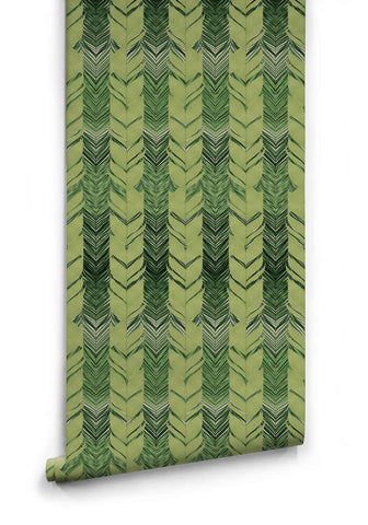 Jungle Weave Wallpaper from the Kingdom Home Collection by Milton & King