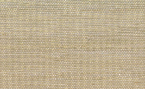 Jute Grasscloth Wallpaper in Beige design by Seabrook Wallcoverings