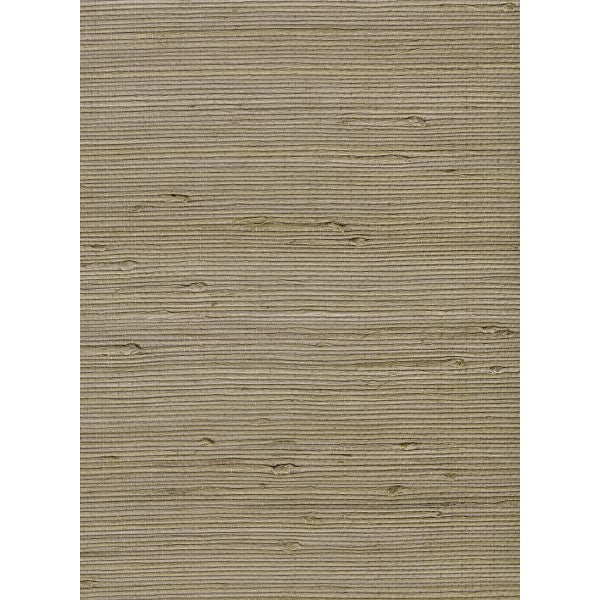 Sample Jute Grasscloth Wallpaper in Tan from the Natural Resource Collection by Seabrook Wallcoverings
