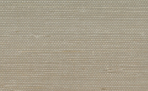 Jute Grasscloth Wallpaper in Taupe design by Seabrook Wallcoverings