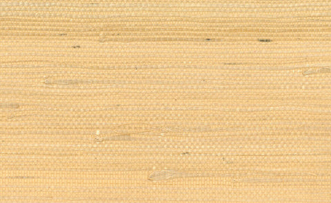 Jute Grasscloth Wallpaper in Yellow design by Seabrook Wallcoverings