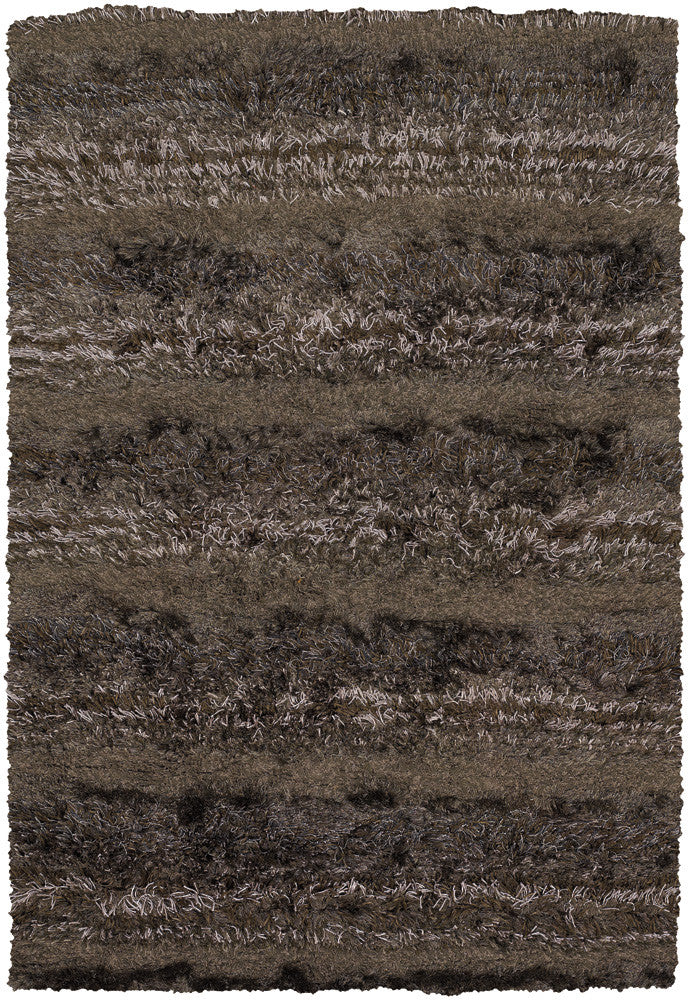 Kapaa Collection Hand-Woven Area Rug in Brown, Tan, & Taupe design by Chandra rugs