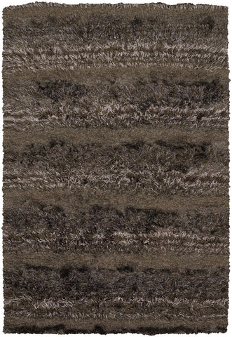 Kapaa Collection Hand-Woven Area Rug in Brown, Tan, & Taupe