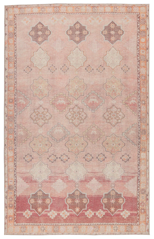 Bijou Medallion Pink & Orange Rug by Jaipur Living