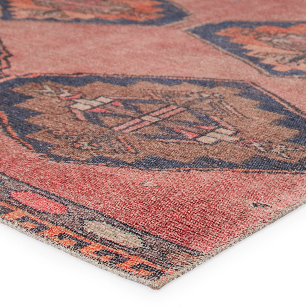 Mirta Medallion Pink & Blue Rug by Jaipur Living