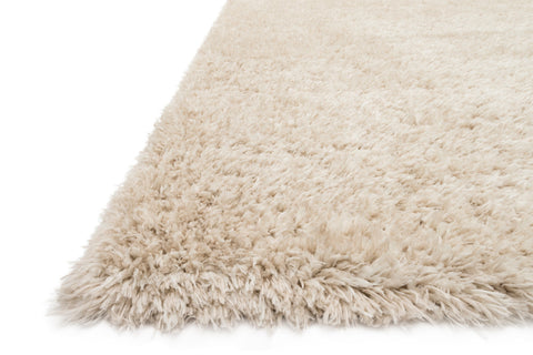 Kayla Shag Rug in Beige by Loloi