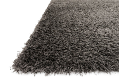 Kayla Shag Rug in Grey by Loloi
