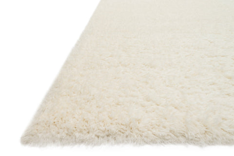 Kayla Shag Rug in Ivory by Loloi