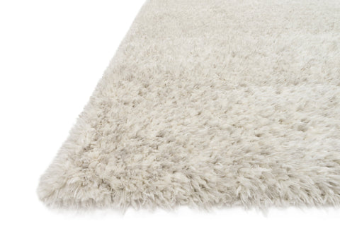 Kayla Shag Rug in Light Grey by Loloi