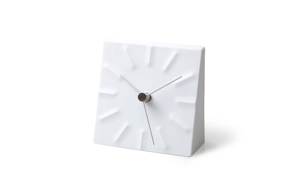 Tensions Table Clock design by Lemnos