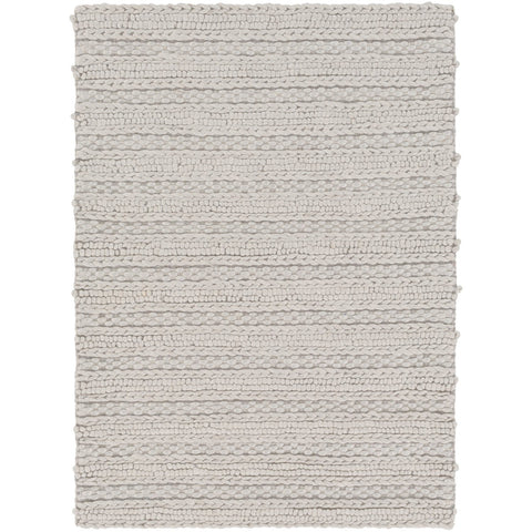 Kindred KDD-3001 Hand Woven Rug in Light Gray by Surya