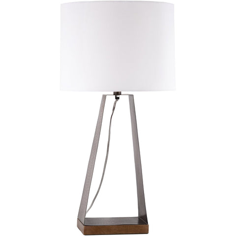 Kaiser KIS-002 Table Lamp in Copper & White by Surya