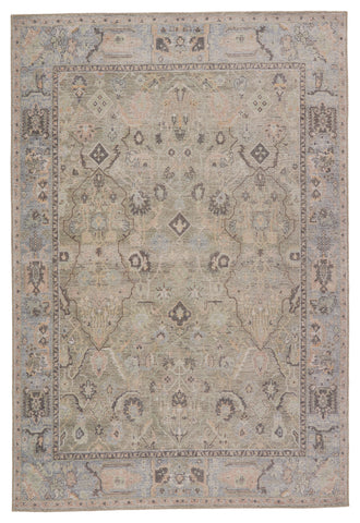 Avin Oriental Rug in Green & Blue by Jaipur Living