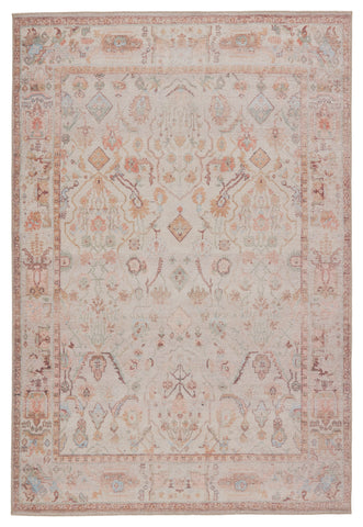 Avin Oriental Rug in Blush & Cream by Jaipur Living