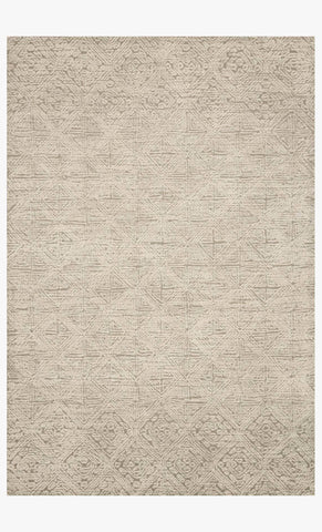 Kopa Rug in Taupe & Ivory design by Ellen DeGeneres for Loloi