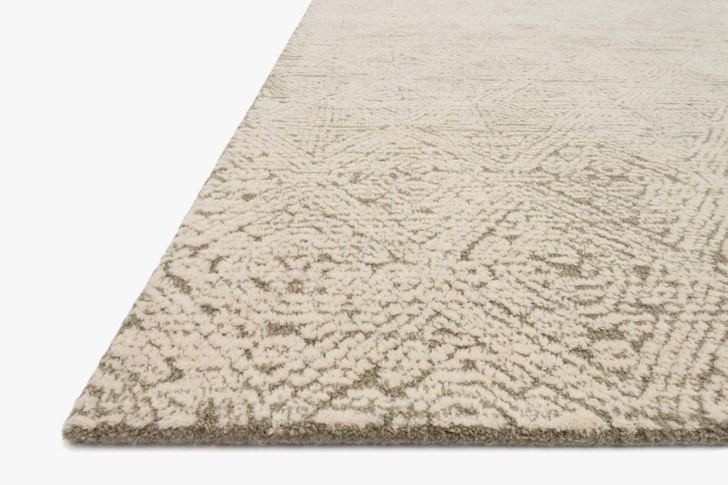 Kopa Rug in Taupe & Ivory by ED Ellen DeGeneres Crafted by Loloi