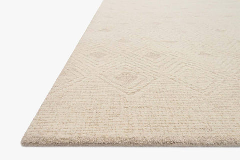 Kopa Rug in Cream & Ivory by ED Ellen DeGeneres Crafted by Loloi
