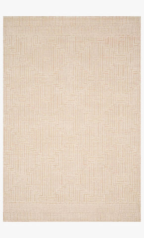 Kopa Rug in Blush & Ivory design by Ellen DeGeneres for Loloi