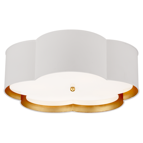 Bryce Large Flower Flush Mount by Kate Spade