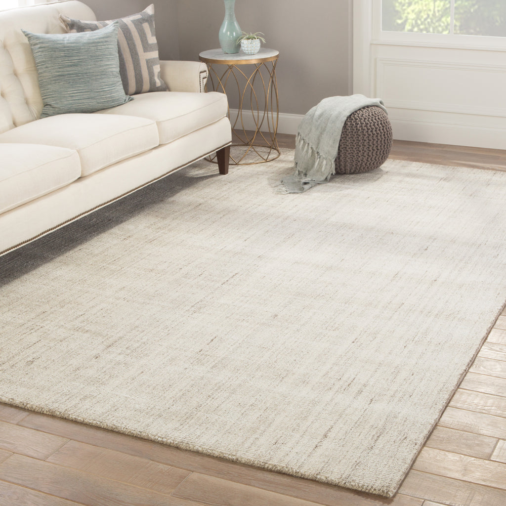 Kelle Handmade Stripe Gray Amp White Area Rug Design By