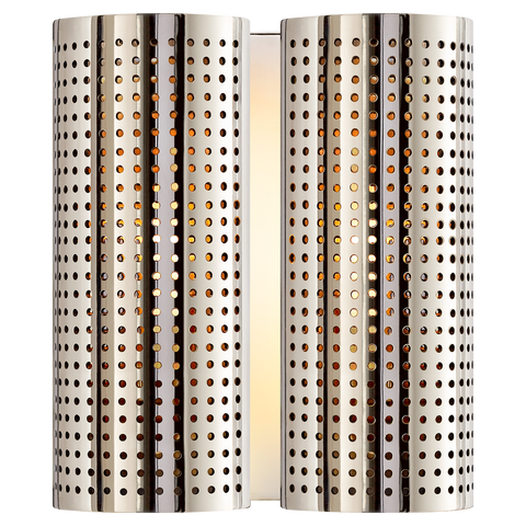 Precision Double Sconce by Kelly Wearstler