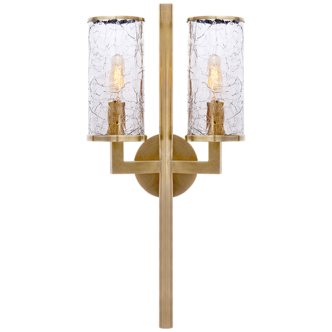 Liaison Double Sconce by Kelly Wearstler
