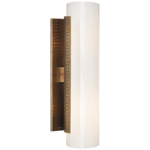 Precision Cylinder Sconce by Kelly Wearstler