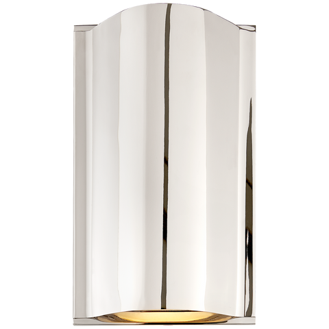 Avant Small Curve Sconce by Kelly Wearstler