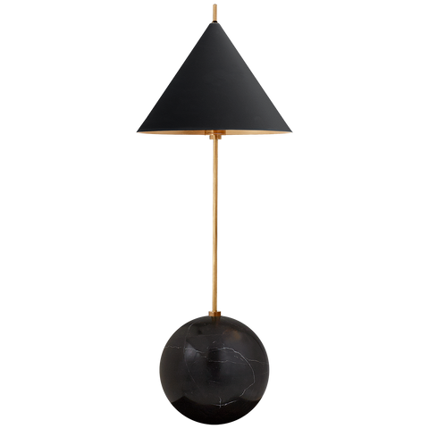 Cleo Orb Base Desk Lamp by Kelly Wearstler
