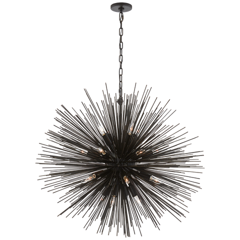 Strada Large Round Chandelier by Kelly Wearstler