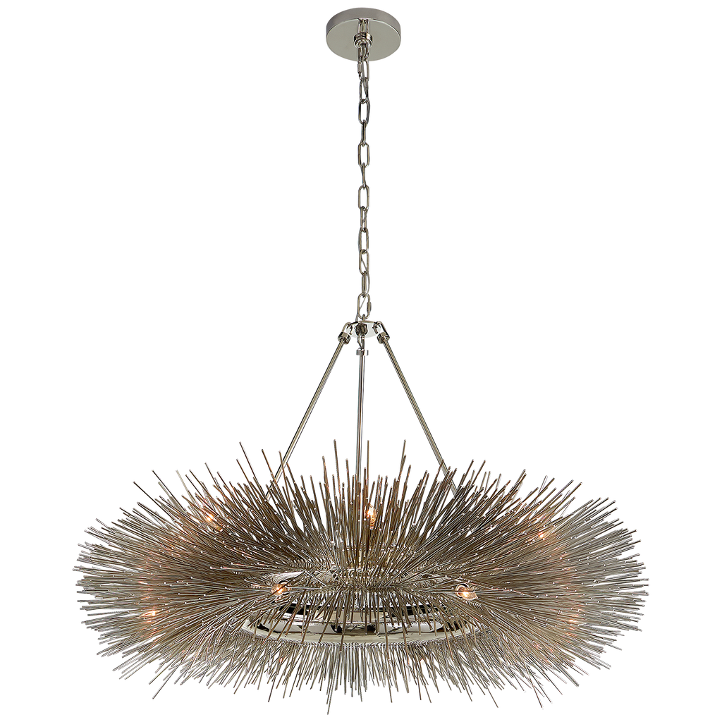 Strada Ring Chandelier by Kelly Wearstler