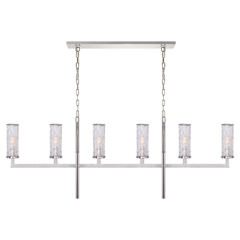 Liaison Large Linear Chandelier by Kelly Wearstler