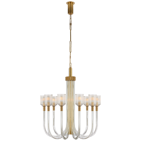 Reverie Medium Single Tier Chandelier by Kelly Wearstler