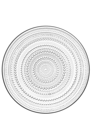 Kastehelmi Plate in Various Sizes & Colors design by Oiva Toikka for Iittala