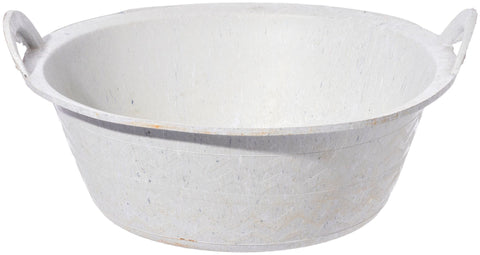 Recycled Sole Rubber Bucket - Round Flat