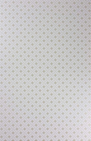 Kelburn Wallpaper in Ivory by Nina Campbell for Osborne & Little