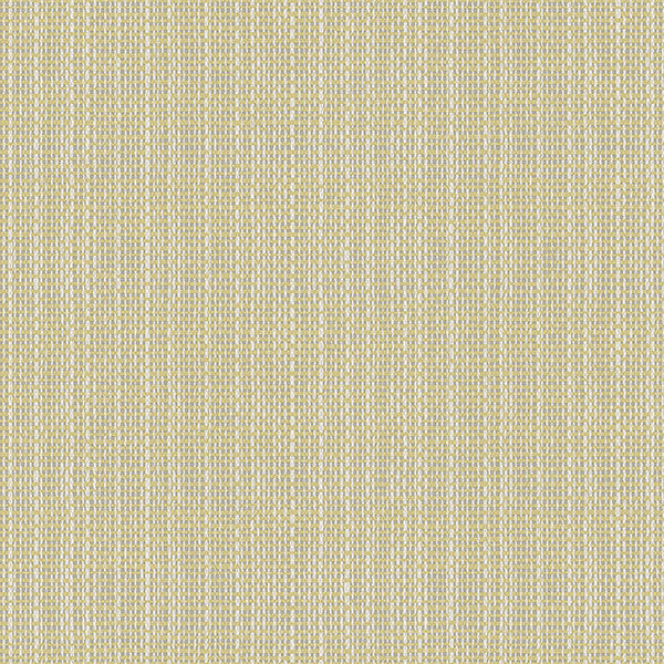 Sample Kent Yellow Faux Grasscloth Wallpaper from the Seaside Living Collection by Brewster Home Fashions