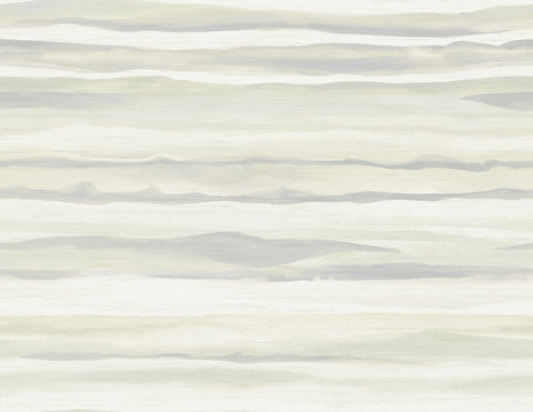 Kentmere Waves Wallpaper in Neutrals from the Lugano Collection by Seabrook Wallcoverings