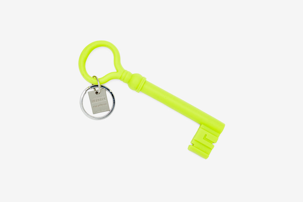 Chartreuse Reality Key Keychain design by Areaware